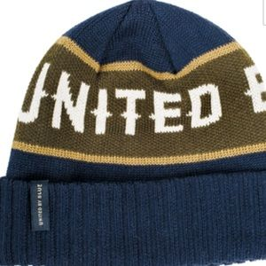 UNITED BY BLUE NAMESAKE BEANIE NEW